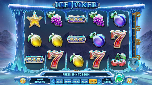 Ice Joker is one of the top games at Griffon Casino