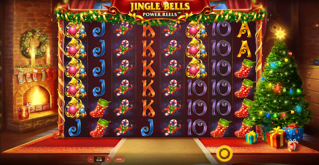 Red Tiger Jingle Bells Power Reels