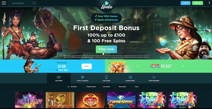 Spela Casino UK