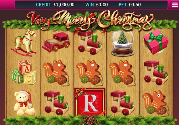 Eyecon Very Merry Christmas casino game