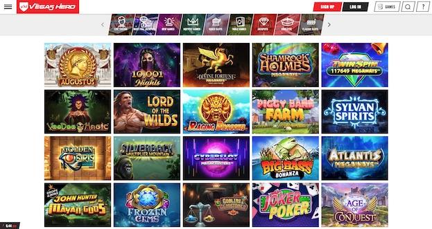Vegas Hero UK Screenshot 2021 Review