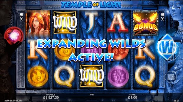 Inspired Gaming Temple of Light Slot
