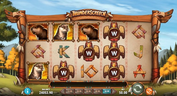 New casino games at Masked Singer include Thunderscreech