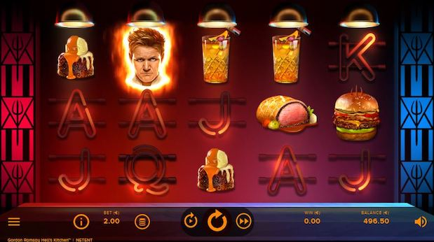 Gordon Ramsay: Hell's Kitchen is one of the best slots on 32 Red Casino