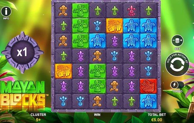 Mayan Blocks Casino Slot Game