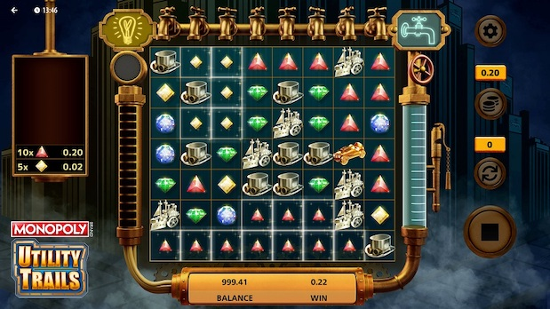 Some of the best 32 Red games include Monopoly Utility Trails
