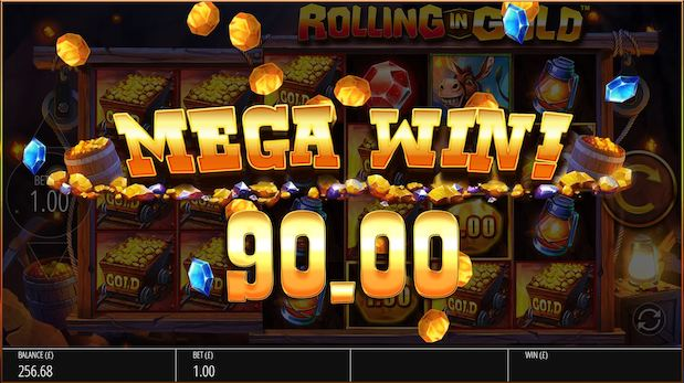 Blueprint Gaming Rolling in Gold Slot