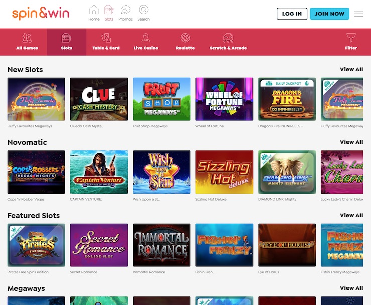 Spin and Win Review and UK Bonus for 2021