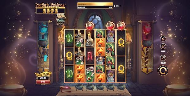Perfect Potions Megaways Slot Game
