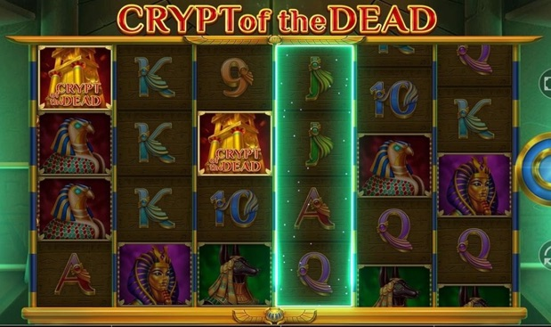 Crypt of the Dead latest game at pots of luck