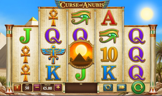 Curse of Anubis Slot at Betfred Casino