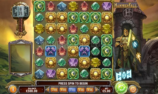 Hammer Fall best new game at pla ojo Casino