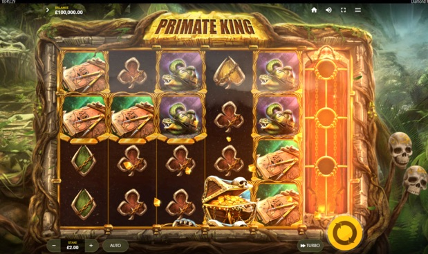 Primate King is one of the top UK slot games out now