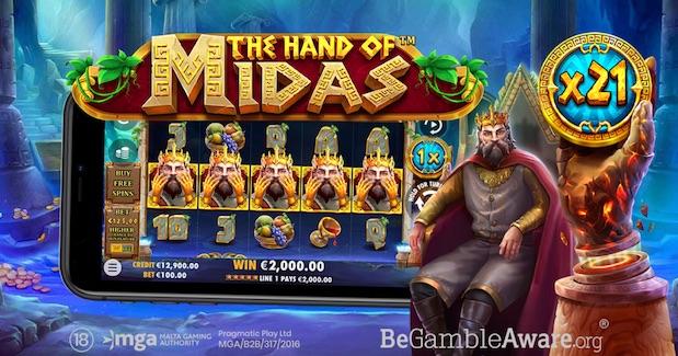 Pragmatic Play The Hand of Midas