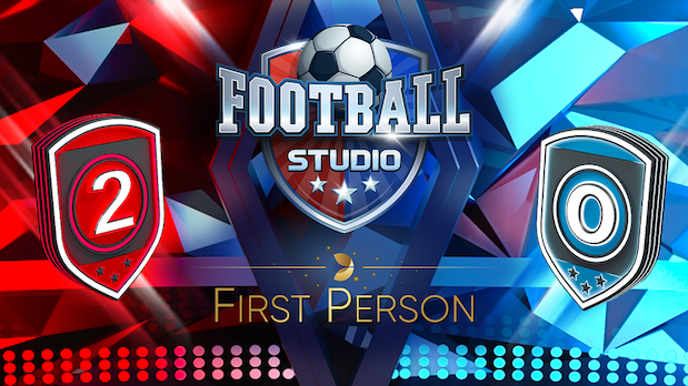 Evolution Gaming First Person Football Live