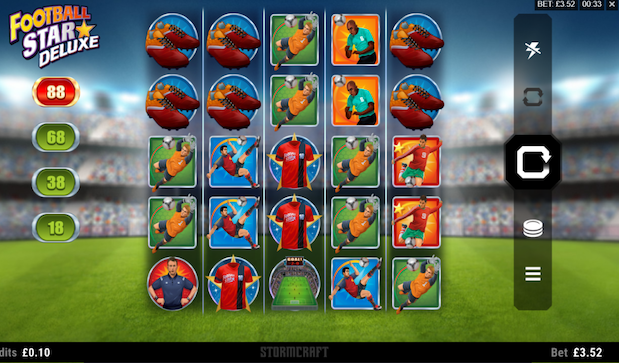 Microgaming Football Star Deluxe Slot