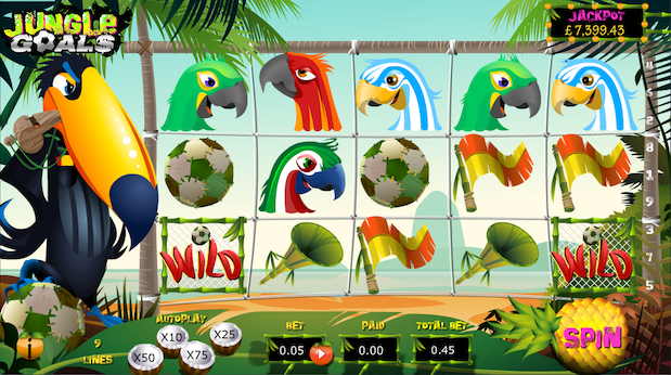 Jungle Goals is one of the best 888 football slots