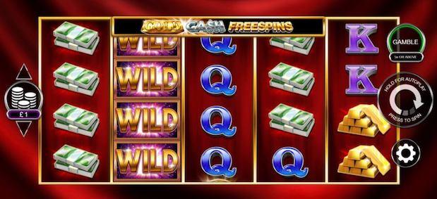Gold Cash Freespins online slot