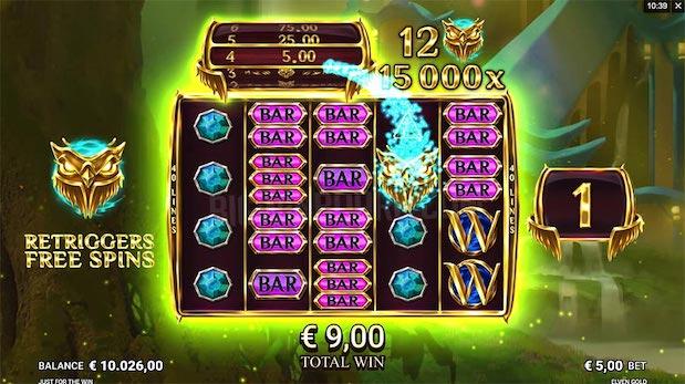Elven Gold Slot at Bgo Casino