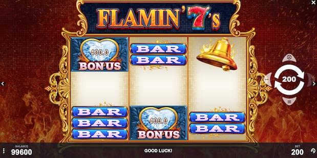 New slot Flamin 7's