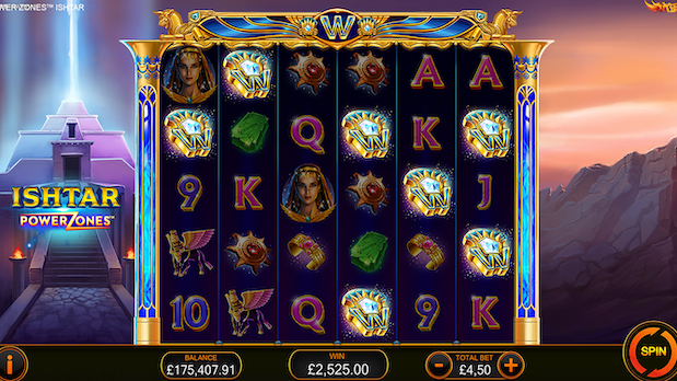 Ishtar Power Zones is the best new slot at Betfred