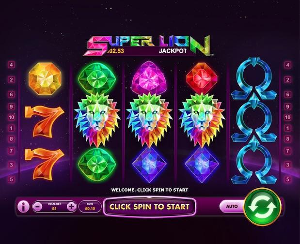 Super Lion  new slot 2021