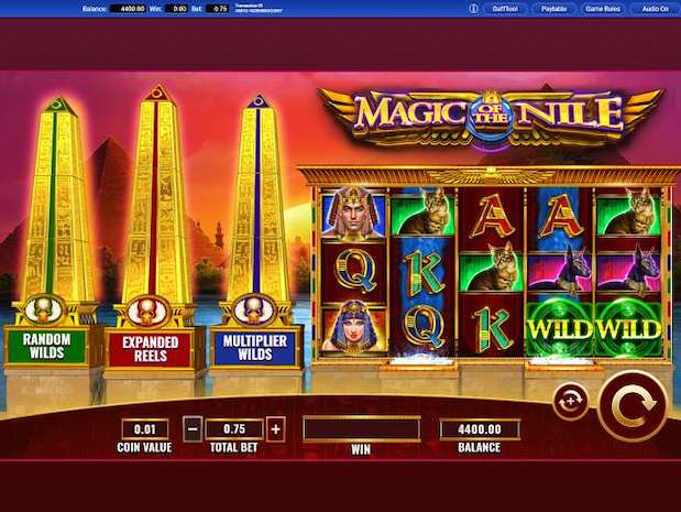 Exclusive slot Magic of the Nile