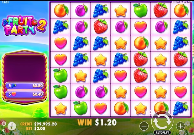 Fruit Party 2 Slot From Pragmatic Play