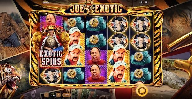 Red Tiger Joe Exotic Slot