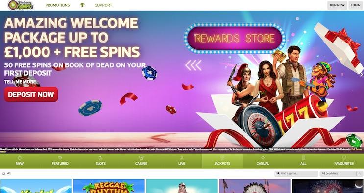 Play Casino Games UK Casino