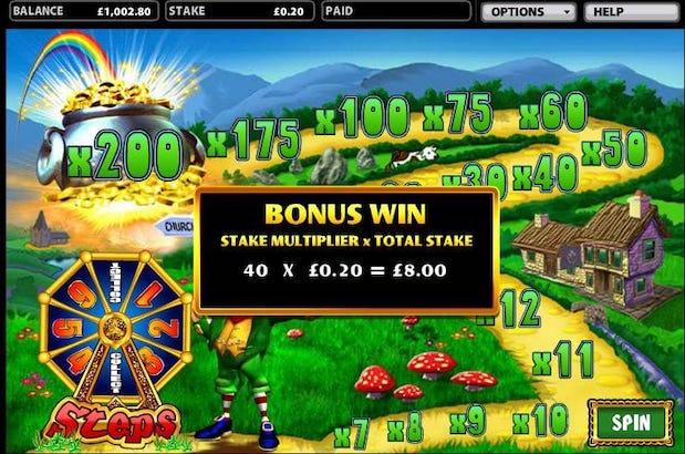 Rainbow Riches Road to Riches Bonus Game