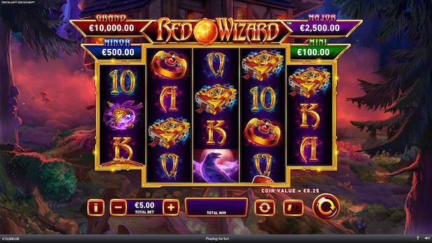 Red Wizard Fire Blaze is one of the best Betfred slots