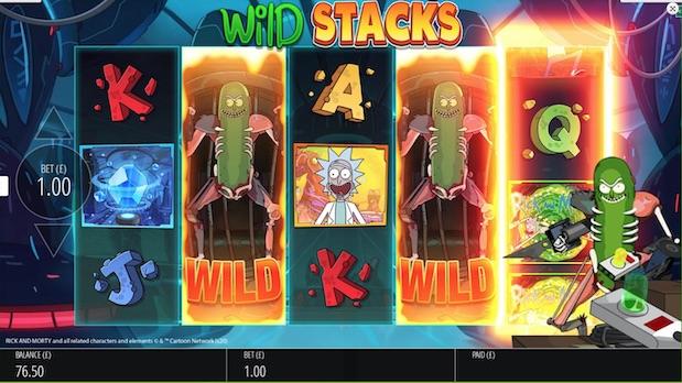 Rick and Morty Wubba Lubba Dub Dub best new game at pla ojo Casino