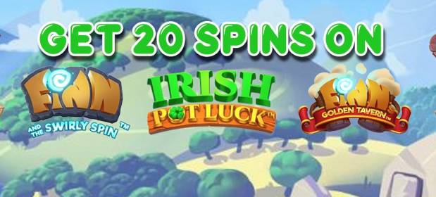 October Casino Free Spins at Pots of Luck