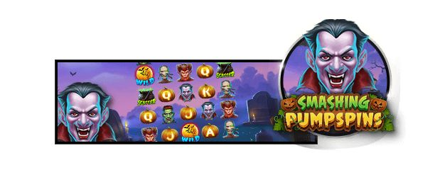Smashing Pumpspins is one of the exclusive Halloween slots at 888